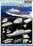 Dragon CH 07129 1/700 U.S.S. Fort Worth LCS-3 [Smart Kit]