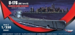 Mirage 350501 1/350 U-176 (IXC TURN II) Niemiecki Okręt Podwodny