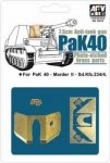 AFV Club AG35012 1/35 Pak 40 Etching Parts
