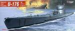 Mirage 40041 1/400 U-176 typ U-IX C Turm II niemiecki okręt podwodny