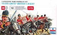 ESCI P217 1/72 Napoleonic Wars - Waterloo 1815 - 'Scots Greys' British Cavalry