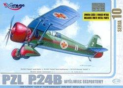 Mirage 48104 1/48 PZL P.24B Myśliwiec Eksportowy (Bułgarska wers.)