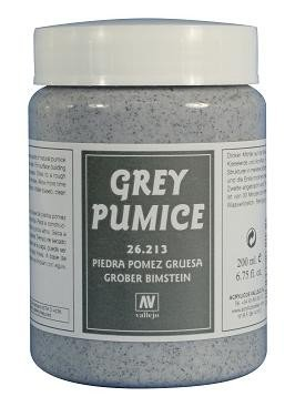 Vallejo 26213 | 200 ml | Grey Coarse Pumice (Pumeks szary)