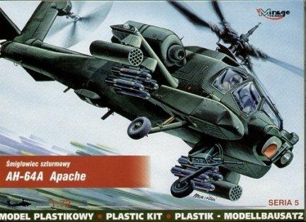 Mirage 72051 1/72 AH-64A Apache śmigłowiec szturmowy