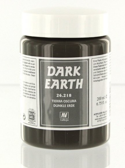 Vallejo 26218 | 200 ml | Dark Earth