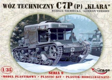 Mirage 35902 1/35 Wóz techniczny C7P (p) 'Klara' wersja niemiecka