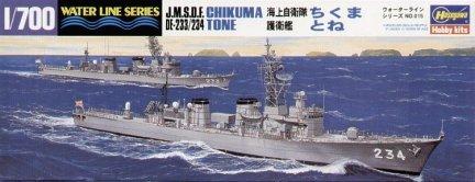Hasegawa WLS015 1/700 JMSDF DDG Chikuma/Tone Destroyer