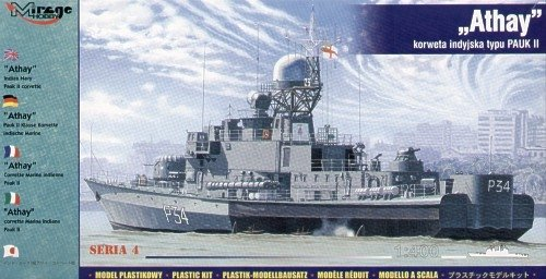 Mirage 40427 1/400 ATHAY INDIAN NAVY PAUK II CORVETTE