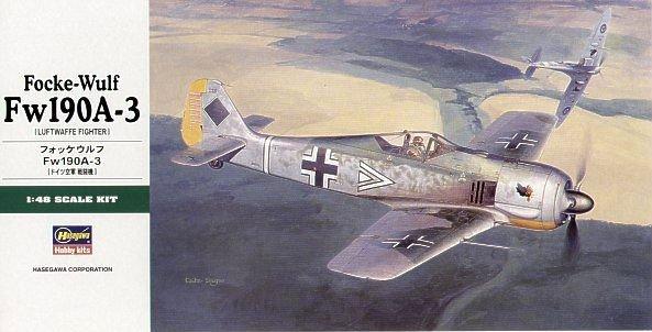 Hasegawa JT90 1/48 Focke-Wulf Fw190A-3