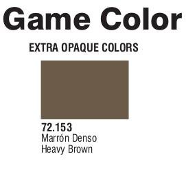Game Color (72153) Extra Opaque | Heavy Brown 17 ml.