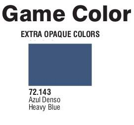 Game Color (72143) Extra Opaque   Heavy Blue 17 ml.