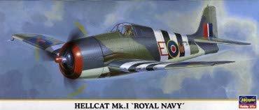 Hasegawa 00262 1/72 Hellcat Mk.I 'Royal NAVY'