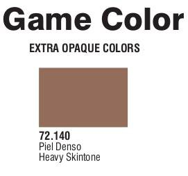 Game Color (72140) Extra Opaque | Heavy Skin Tone 17 ml.