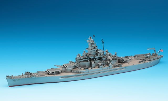 Hasegawa WLB119 1/700 U.S.A. Battleship South Dakota