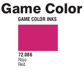 Game Color (72086) Game Ink | Inky Red 17 ml.