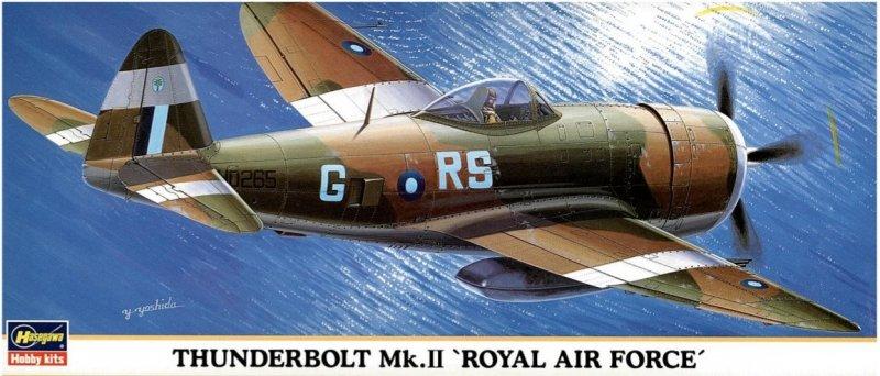 Hasegawa 00180 1/72 Thunderbolt Mk.II 'ROYAL AIR FORCE'