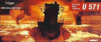 Mirage 40049 1/400 U-571 niemiecki okręt podwodny