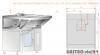 Okap nad piece konwekcyjne i konwekcyjno-parowe Kromet DM-S 3612  760x1085x400