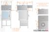 Okap uniwersalny nad piece konwekcyjne i konwekcyjno-parowe DM-S 3629  600x1100x400