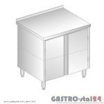 Stół z szafką DM 3117 szerokość: 700 mm (800x700x850)