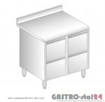Stół z szufladami DM 3121 szerokość: 700 mm (800x700x850)