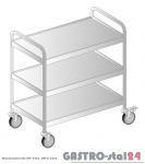 Wózek kelnerski DM 3423 szerokość: 545 mm (810x545x900)