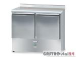 Stół chłodniczy bez agregatu z płyta wierzchnią nierdzewną DM 90044 950x600x850