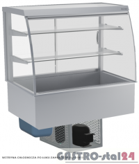 Witryna chłodnicza zamknięta DM-94950.2 wym. 770x714x1429mm