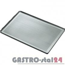 Blacha wypiekowa aluminiowa perforowana 1,5 mm 600x400