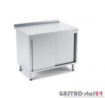 Stół przyścienny z drzwiami suwanymi wym. 1400x600x850