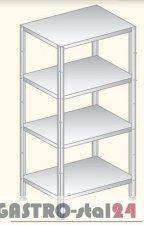 Regał (skręcany) półki pełne DM 3337 szerokość: 400 mm  (600x400x1800)