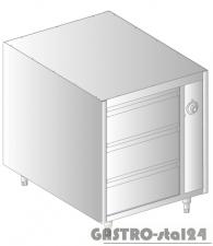 Szafka podgrzewana z szufladami MOBILNA DM 94375-K.2 800x790x720