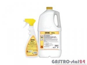 Preparat do samoczynnego usuwania zapieczonego tłuszczu oraz zadymień do pieców konwekcyjnych REMIX - GRILL 0,6L