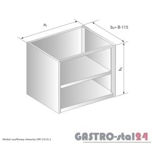 Moduł szafkowy otwarty DM 3115.1  szerokość: 485 mm  (600x485x650)