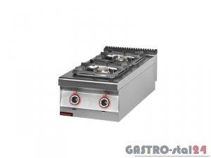 Kuchnia gazowa 2-palnikowa 900.KG-2, 450x900x280