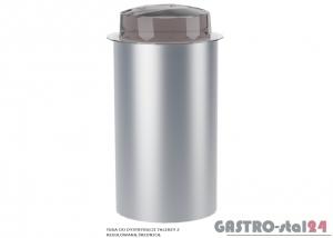 Tuba do dystrybucji talerzy z regulowaną średnicą DM 94976/2