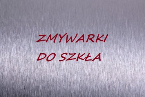 Zmywarki do szkła