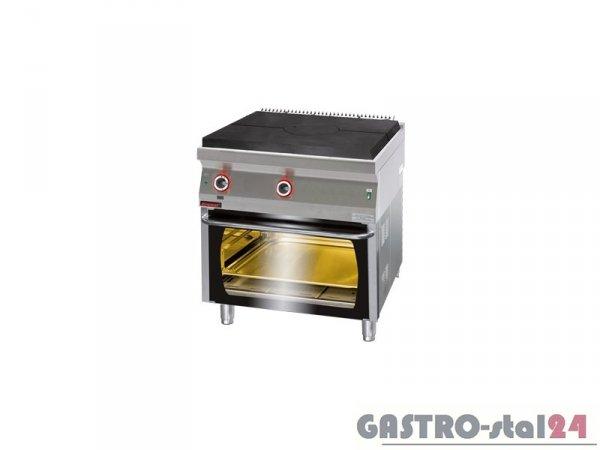 Kuchnia gazowa z płytą grzewczą z piekarnikiem gazowym 700.KG/I-800/PG-2,800x700x900