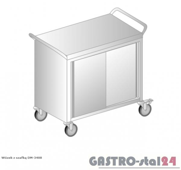 Wózek z szafką DM 3408 szerokość: 600 mm  (1000x600x850)