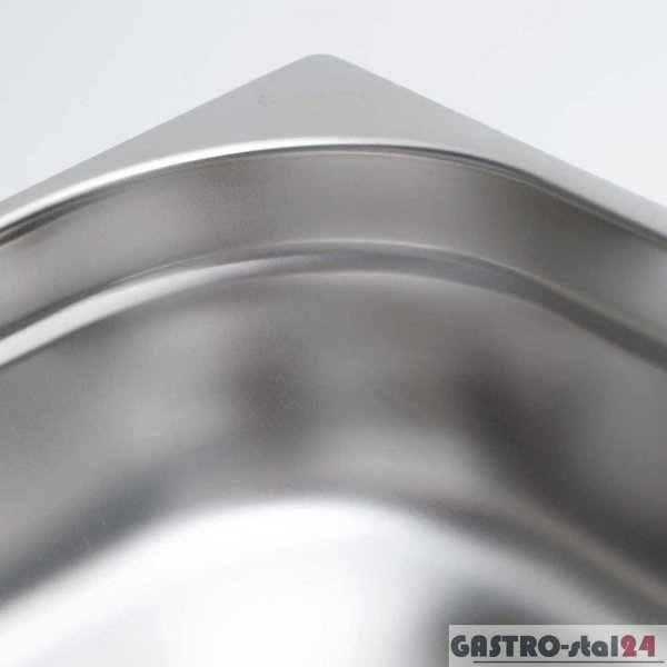 Pojemnik ze stali nierdzewnej GN 1/12 wym. 132x108  (H=100 mm)