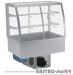 Witryna chłodnicza po łuku z klapkami DM-94950.5K wym. 1745x614x1429mm