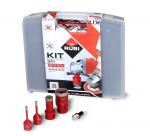 Zestaw Mini DryGres RUBI zestaw 4 koronek wiercenie na sucho /50938/