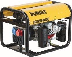 Agregat prądotwórczy DeWalt DXGN 5000E AVR PE402SHI019 4,4 kW 1-fazowy