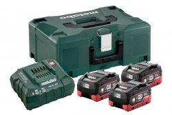 Zestaw akumulatorów Metabo 3x LiHD 5,5 Ah Metaloc 685069000