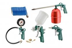 Zestawy narzędzi pneumatycznych Metabo LPZ 7 Set 601586000