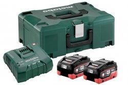 Zestaw akumulatorów Metabo 2x LiHD 8.0 Ah Metaloc 685131000