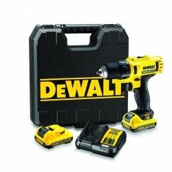 Kompaktowa akumulatorowa wiertarko-wkrętarka DeWalt DCD710D2 XR Li-Ion 10,8V