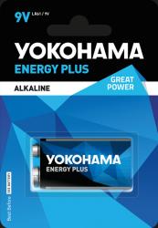 Bateria alkaiczna Yokohama Energy Plus LR61 9V 1szt.