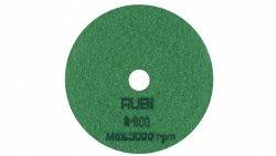 Nakładka polerska na sucho RUBI 62974 100mm gr.800