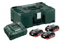 Zestaw akumulatorów Metabo 3x LiHD 4.0 Ah Metaloc 685133000